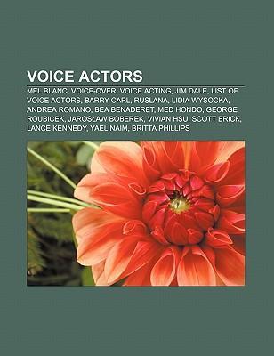 Voice actors als Taschenbuch von