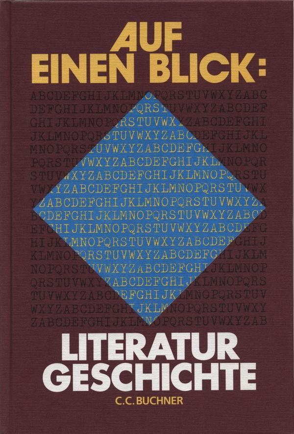 Auf einen Blick: Literaturgeschichte als Buch