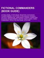 Fictional commanders (Book Guide) als Taschenbu...