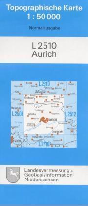 Aurich ( Ostfriesland) 1 : 50 000 als Blätter und Karten