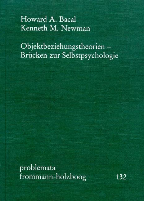 Objektbeziehungstheorien als Buch