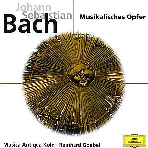 Musikalisches Opfer/Sonate/Ricercar als CD