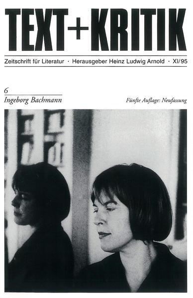 Ingeborg Bachmann als Buch