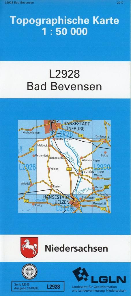 Bad Bevensen 1 : 50 000 als Buch