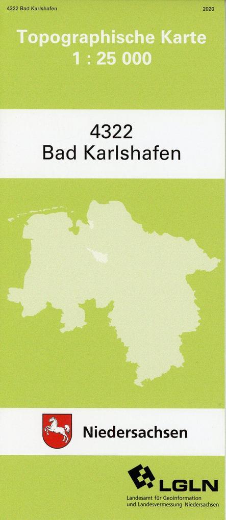 Bad Karlshafen 1 : 25 000 als Blätter und Karten