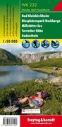Bad Kleinkirchheim, Nationalpark Nockberge, Millstätter See, Turracher Höhe, Radenthein 1 : 50 000. WK 222