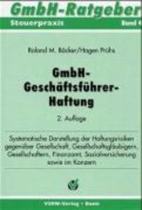GmbH-Geschäftsführer-Haftung als Buch