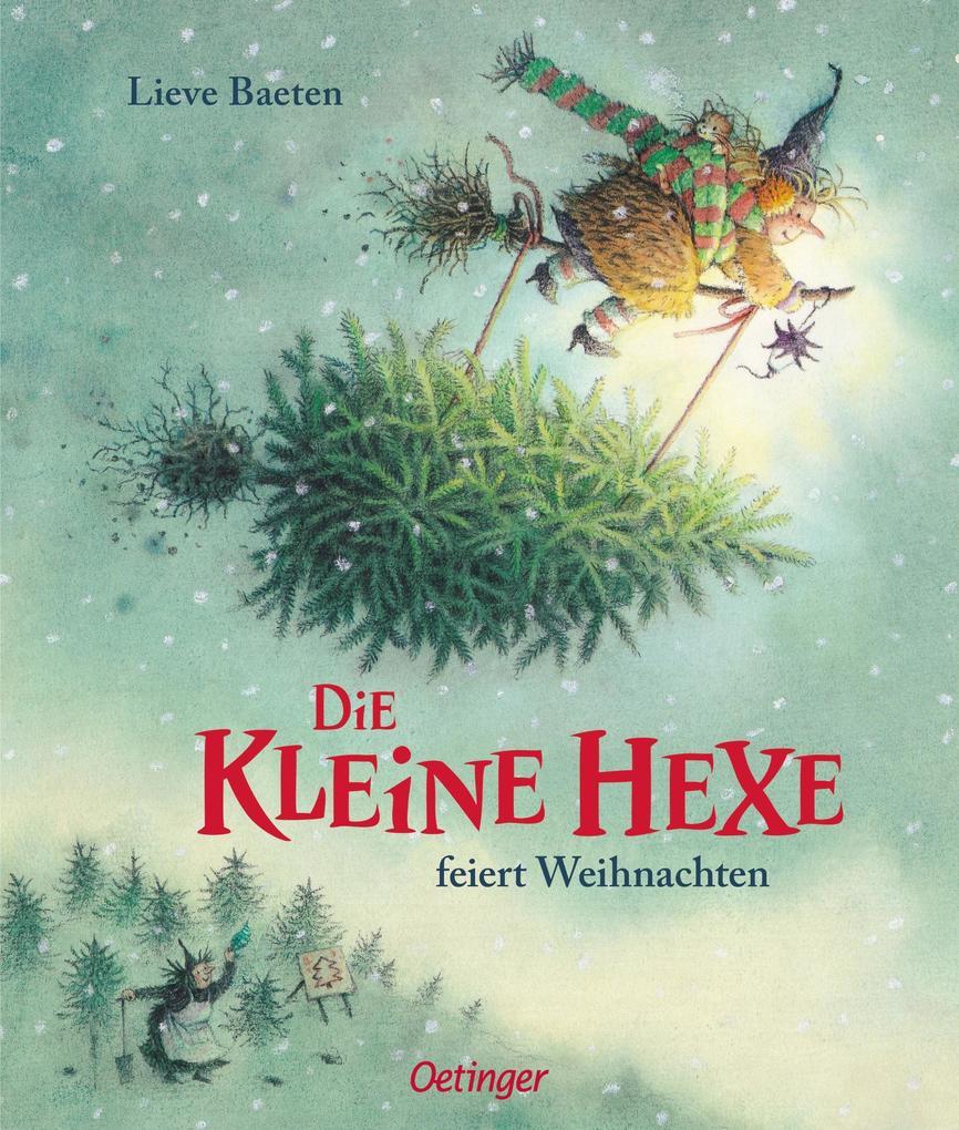 Die kleine Hexe feiert Weihnachten als Buch
