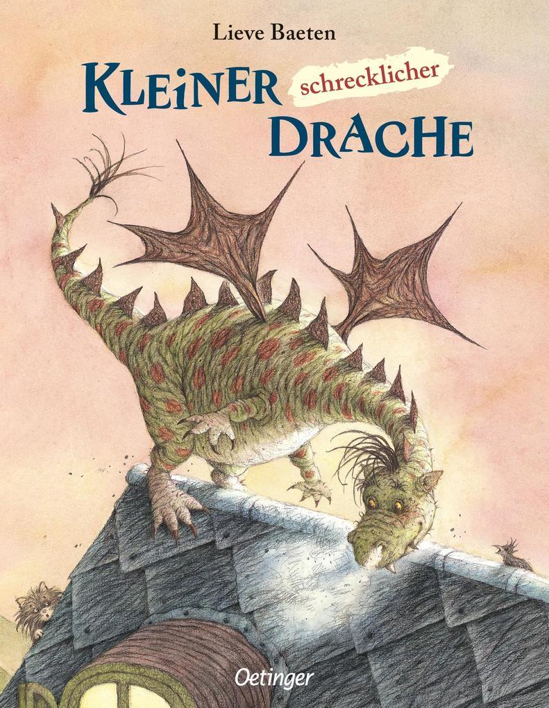 Kleiner, schrecklicher Drache als Buch (kartoniert)