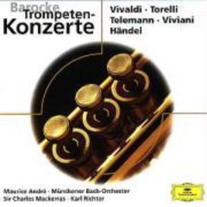 Barocke Trompetenkonzerte als CD