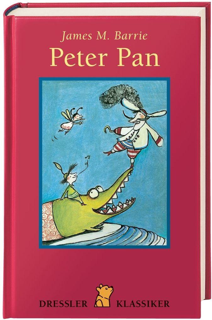 Peter Pan als Buch (gebunden)