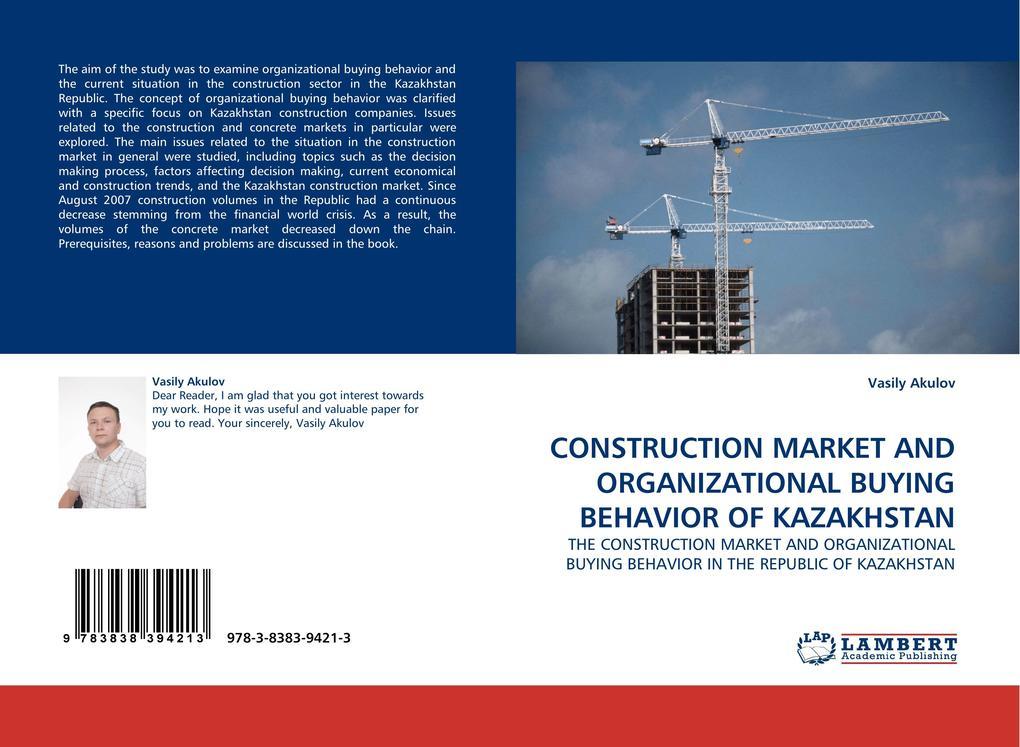 CONSTRUCTION MARKET AND ORGANIZATIONAL BUYING B...
