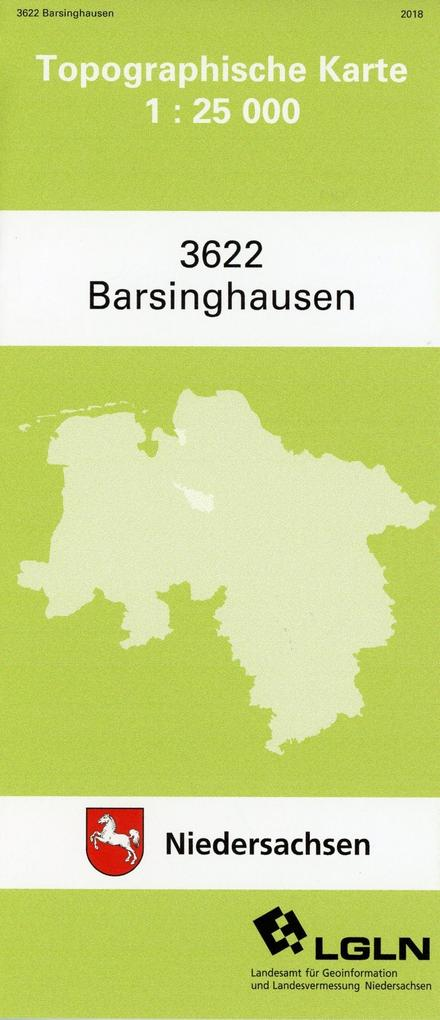 Barsinghausen 1 : 25 000. (TK 3622/N) als Buch