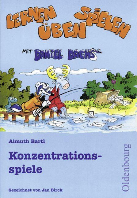 Konzentrationsspiele als Buch