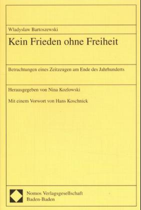 Kein Frieden ohne Freiheit als Buch
