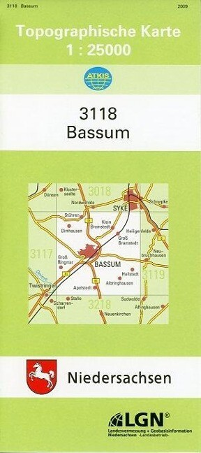 Bassum 1 : 25 000 als Buch