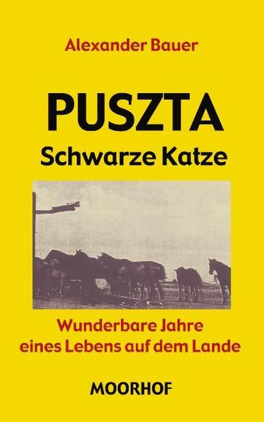 Puszta - Schwarze Katze als Buch (kartoniert)