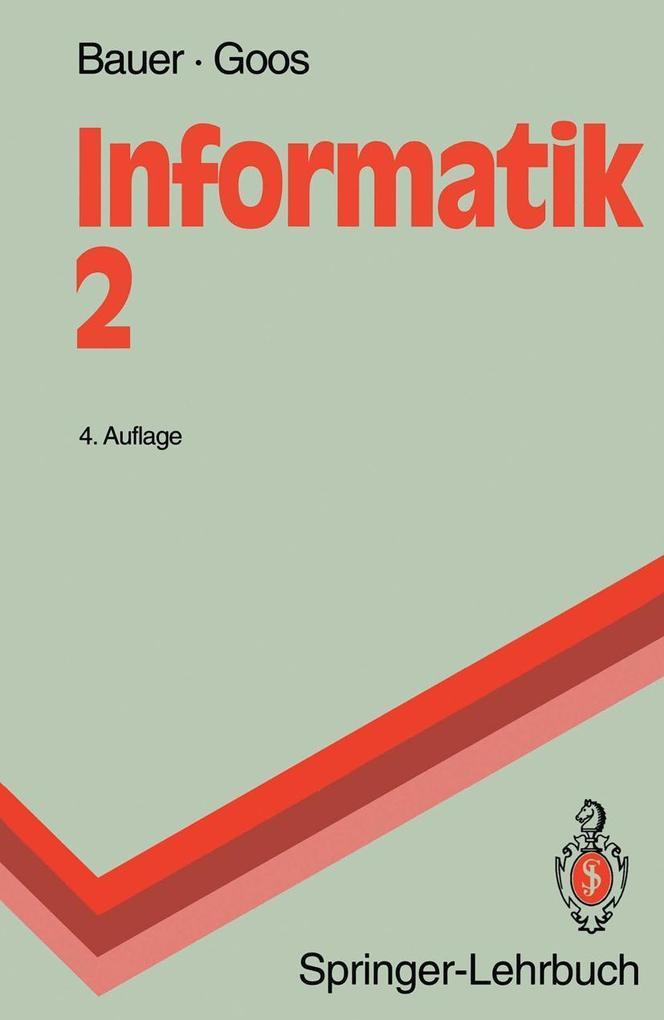 Informatik 2 als Buch