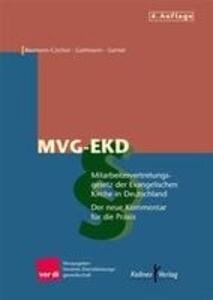 Mitarbeitervertretungsgesetz der Evangelischen Kirche in Deutschland ( MVG-EKD) als Buch