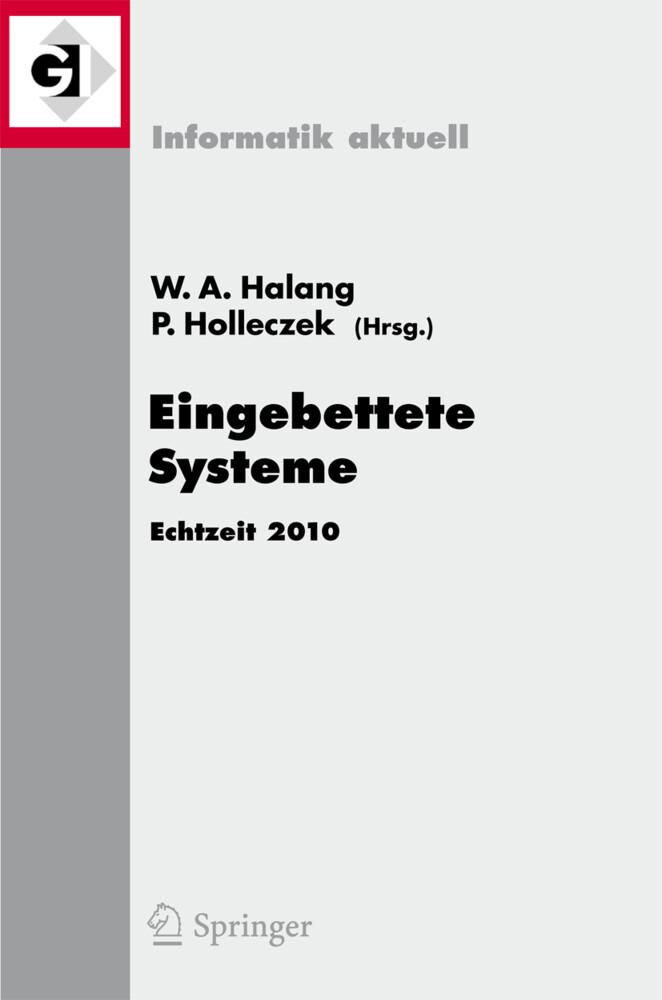 Eingebettete Systeme als Buch von