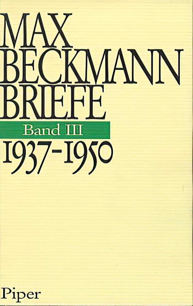 Briefe. 1937 - 1950 als Buch