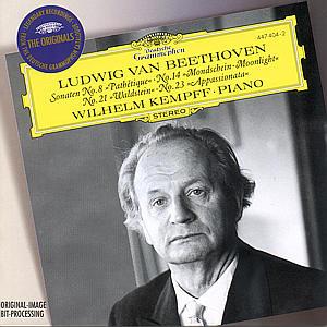 Klaviersonaten 8,14,21,23 als CD