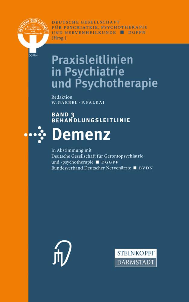 Behandlungsleitlinie Demenz als Buch