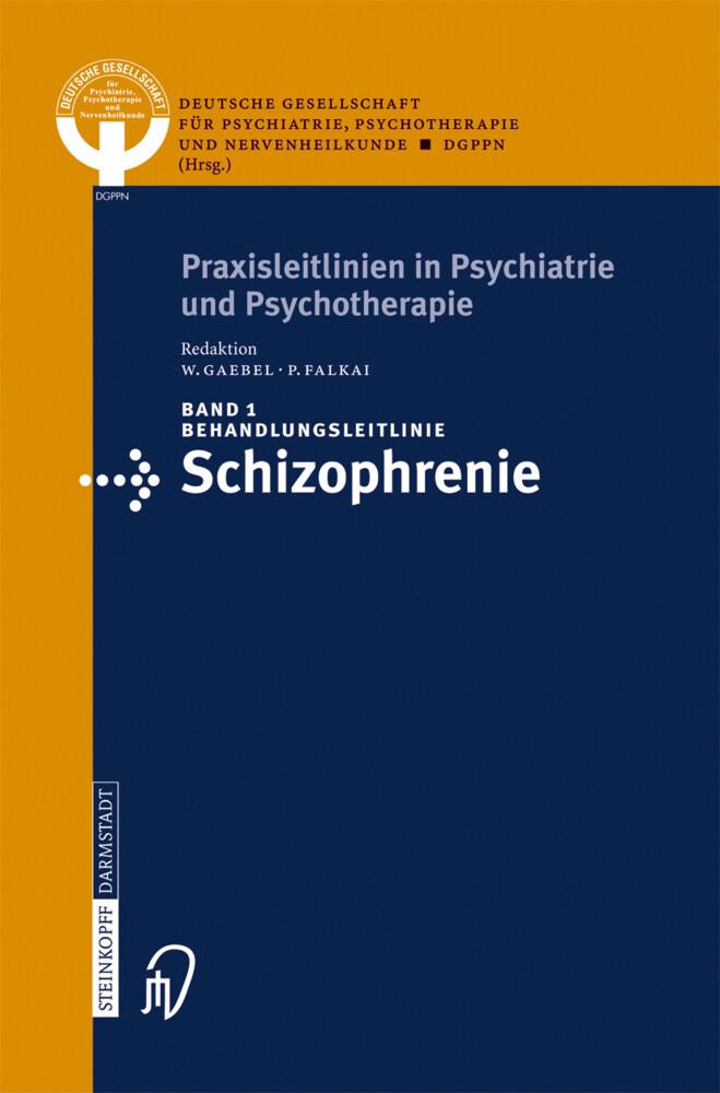 Behandlungsleitlinie Schizophrenie als Buch