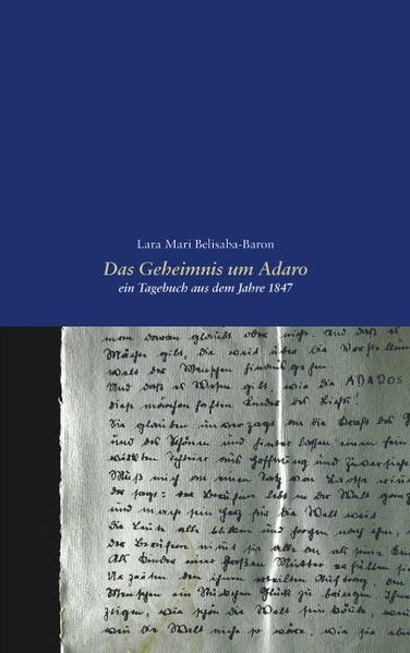 Das Geheimnis um Adaro als Buch