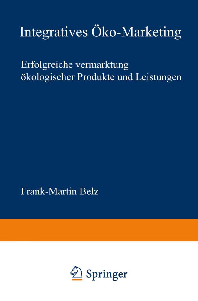 Integratives Öko-Marketing als Buch