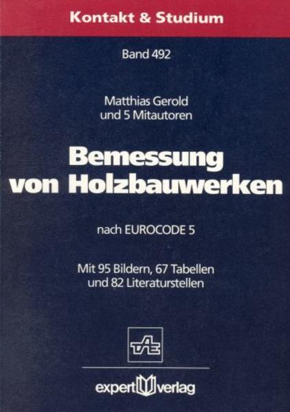 Bemessung von Holzbauwerken nach EUROCODE 5 als Buch