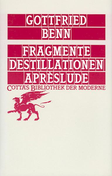 Fragmente - Destillationen - Apreslude als Buch