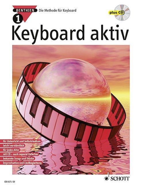 Keyboard aktiv 1. Mit CD als Buch