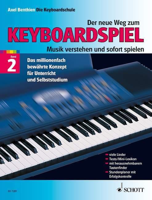 Der neue Weg zum Keyboardspiel 2 als Buch