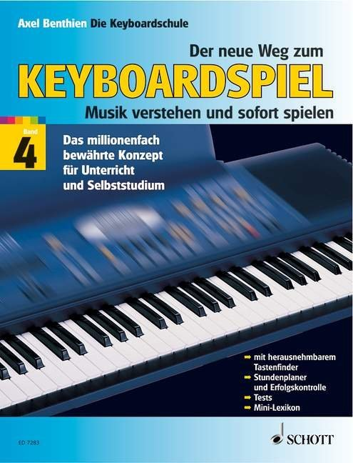 Der neue Weg zum Keyboardspiel 4 als Buch