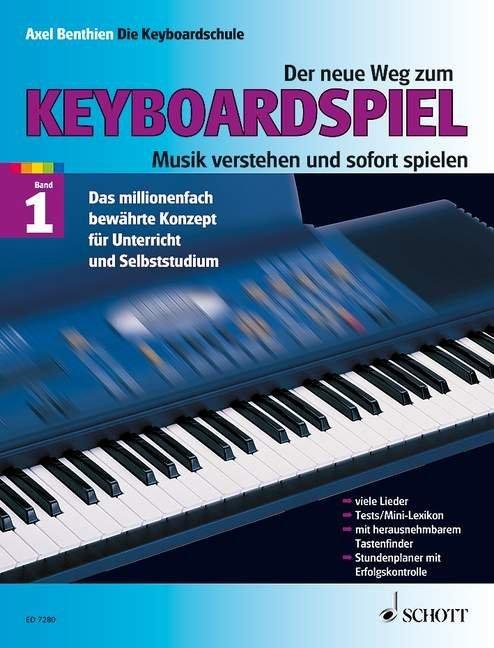 Der neue Weg zum Keyboardspiel 1 als Buch