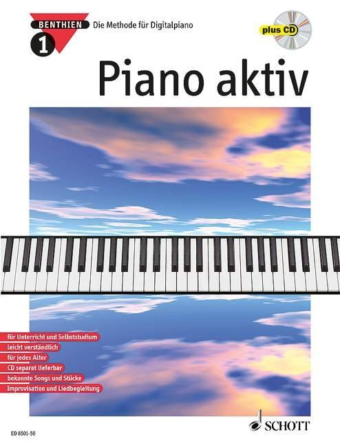 Piano aktiv 1. Mit CD als Buch