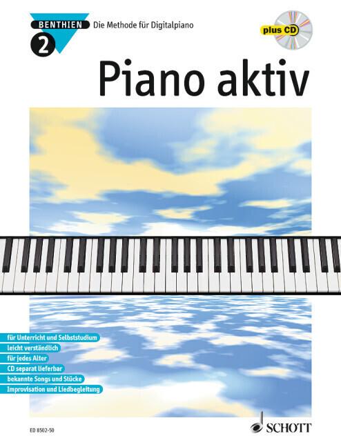 Piano aktiv 2. Mit CD als Buch
