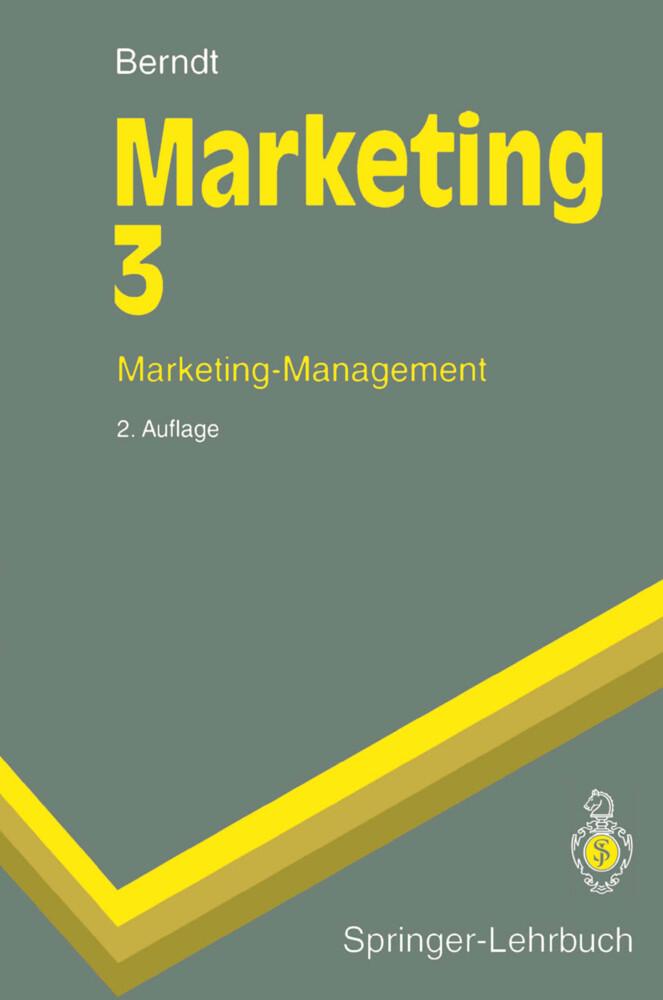 Marketing-Management als Buch