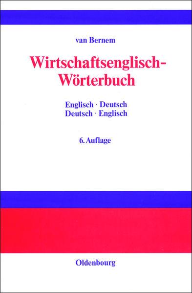 Wirtschaftsenglisch-Wörterbuch als Buch (gebunden)