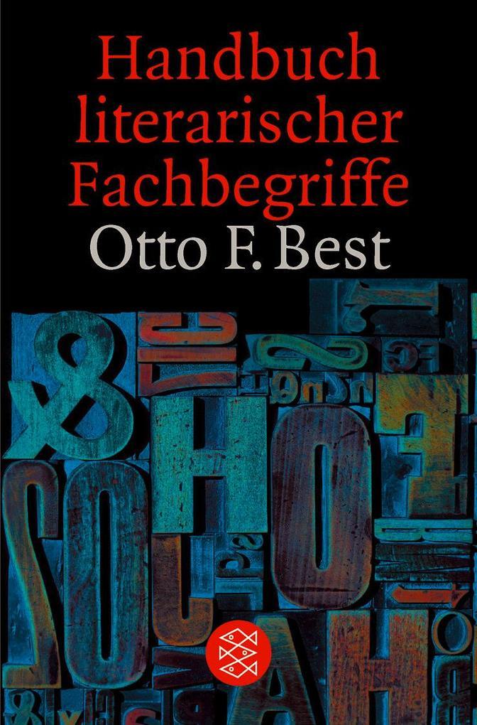 Handbuch literarischer Fachbegriffe als Taschenbuch