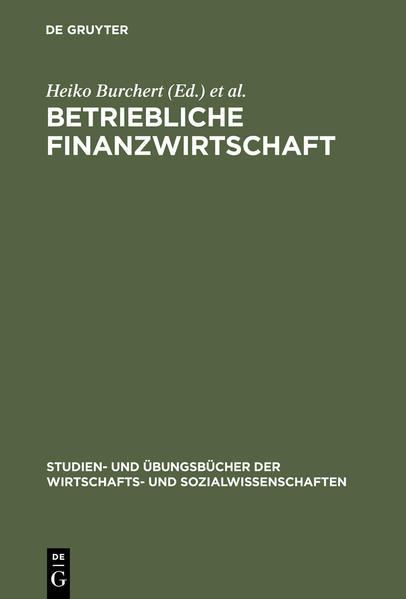 Betriebliche Finanzwirtschaft als Buch