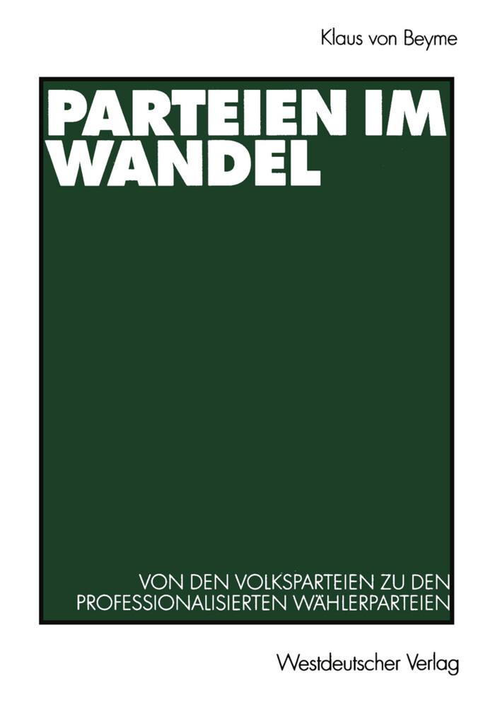 Parteien im Wandel als Buch