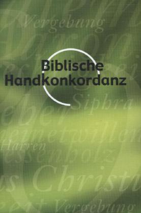 Biblische Handkonkordanz als Buch