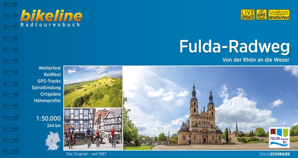 Bikeline Fulda-Radweg als Buch