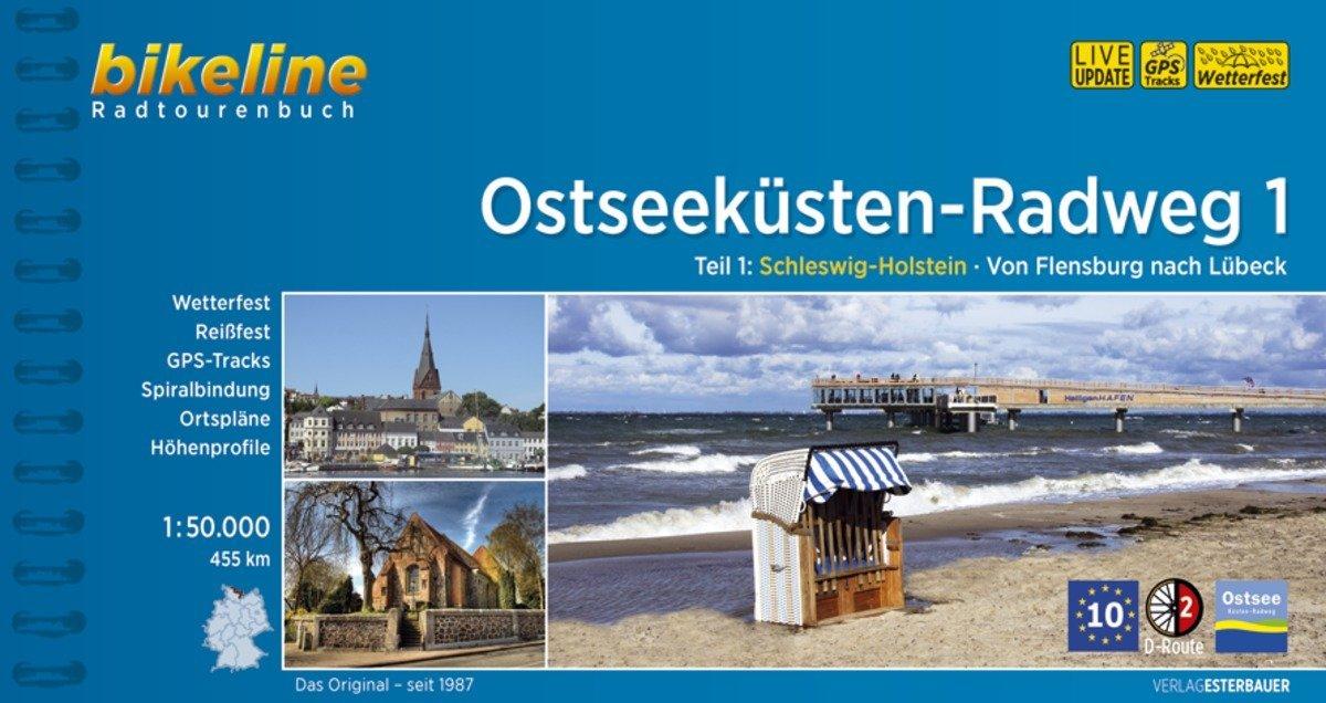 Bikeline Ostseeküsten-Radweg 1 als Buch