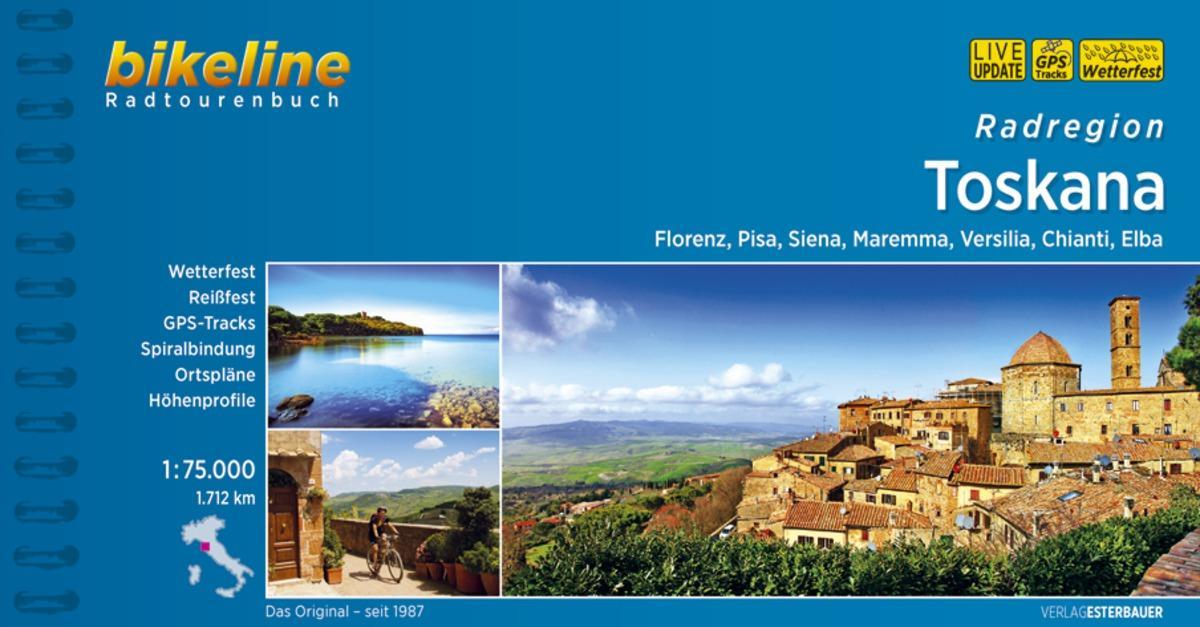 Bikeline Radregion Toscana als Buch