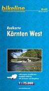 Bikeline Radkarte Österreich Kärnten West 1 : 75 000
