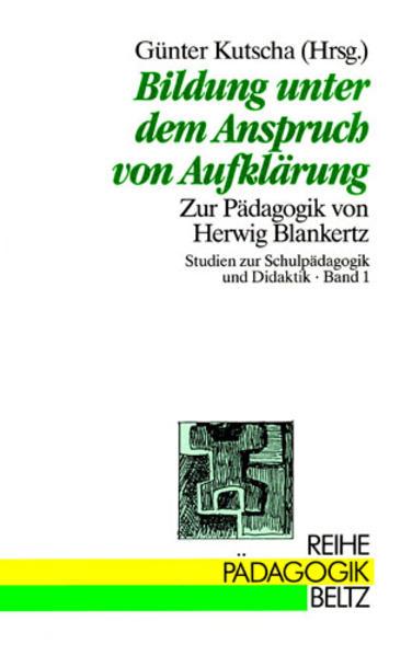 Bildung unter dem Anspruch v. Aufklärung als Buch