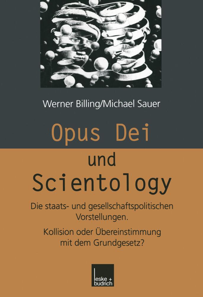 Opus Dei und Scientology als Buch (gebunden)